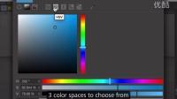 Cinema 4D R17新功能介绍 -  c4dr17新版本Color Chooser
