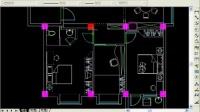 CAD室内外施工图绘制4.绘制地面用材-CAD教程网