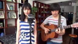 吉他弹唱 《红豆 》酷音乐器  小伟  周梦妮