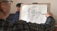 绘画材料研究 教学简笔画 人物 图片