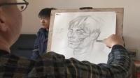 漫画手指绘画技巧 彩铅画入门图临摹图片