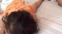 熟睡小美女