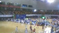 在第十四届广东省运会竞技体育组男子乙组(选手组)篮球比赛决赛中,深圳队最终战胜东莞体校队,摘得金牌。东莞队获得银牌。