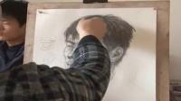 幼儿画简笔画教程 卡通人物素描铅笔画视频