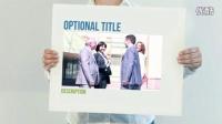 0011CP 人物产品介绍动画AE模板,White Board Presentation