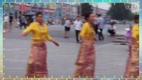 黑水藏寨仙女村美女们在北京表演精彩广场舞