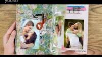 实拍+后期,清新可爱的情人节爱情故事相册AE模板