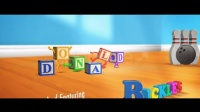LM602-会跳舞的字母玩具盒子动画AE模板