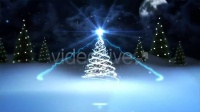雪花圣诞树 LOGO片头 2015羊年 新年快乐模版 AE模版源文件