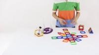 费雪新品 磁力片 磁力建构片磁铁积木 世界益智玩具第一品牌