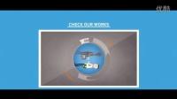AE模板 公司企业服务或产品推广演示视频图形动画APP应用程序图标