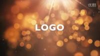 灿烂的光斑效果Logo展示 光效标志AE模板