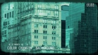 0022FG 记忆中的城市老电影胶片效果AE模板,Vintage Video Maker