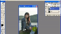 ps数码照片处理大全-实例3 背光照片