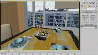 4餐厅物体 3d max室内设计教程 cad室内设计教程6