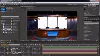 【AE学前班】 虚拟演播室02 动态背景制作