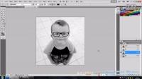 PS实用案例视频教程第7课 如何消除眼镜有色反光
