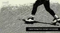 视频转素黑白描绘画效果AE模板 Sketch