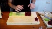 如何制作日本料理黄瓜金枪鱼寿司卷