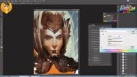 【PS教程】游戏角色头像手绘创作技法精炼