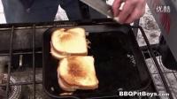 奶酪焗面包牛肉堡 by the bbq pit boy