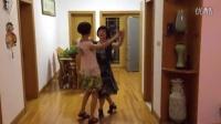 学跳双人舞交谊舞慢四步