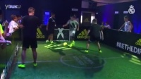 Bale and Marcelo take centre stage at an Adidas event