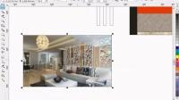 CorelDRAW画电视墙,电视墙彩图画法,室内设计CDR电视墙,室内设计电视墙画法,电视墙立面图