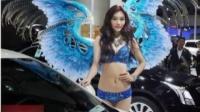 """上海车展取消车模 台媒:美女或变装玩""""制服诱惑"""""""