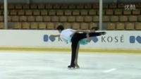 ISU 2015 Jr. Grand Prix Riga Pairs Short Program Ying ZHAO - Zhong XIE CHN