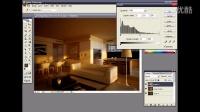 3dmax 客厅渲染及后期处理(九)【模型云】