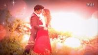 ZD系列 会声会影视频展示 LOVE5 唯美光斑粒子婚礼片头(红色)