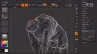 【ZBrush雕刻】创建网格雕刻艺术视频教程