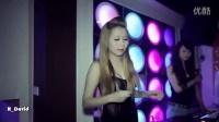 越南夜店 美女DJ现场打碟 美女热舞