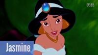 没有化妆的迪士尼公主