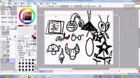叶唯的少儿美术网络课(各种图形变化联想和设计各种龙)