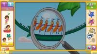 《爱探险的朵拉历险记》★朵拉的大世界探险★4399小游戏!
