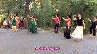 紫竹院广场舞——我的九寨(带歌词字幕)