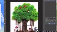 PS基础案例实操-童话树PS教程