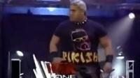 WWE当年的超级肌肉女Chyna才叫真女汉子 直接跟男