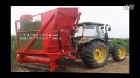 秸秆青贮鲜玉米秸秆回收机生产过程视频