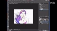 PS美女彩描2 视频学习,有兴趣的同学一起学习交流