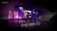 音频跳动AE模板 娱乐音乐舞会街舞开场人物视屏展示介绍片头特效