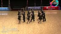 难得一见的拉丁团体舞!