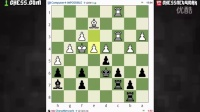 Standard chess game with commentary #9 - Queen Pawn Game|#国际象棋|150910