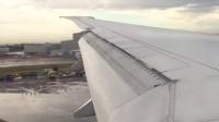 777降落伦敦希思罗     Ps:不要问我怎么拿手机拍的