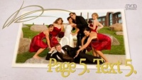 AE模板 唯美复古风格翻书婚礼照片婚庆电子相册视频