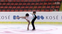 2015 ISU Jr. Grand Prix - Linz Pairs Short Program Ying ZHAO - Zhong XIE CHN