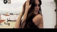 GQ西班牙版2013一月大片 熟女大露深V口红涂身
