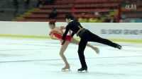 2015 ISU Jr. Grand Prix - Linz Pairs Free Skate Ying ZHAO - Zhong XIE CHN